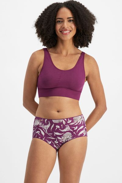 Jockey No Panty Line Promise Micro Full Brief Flying Gum Reign