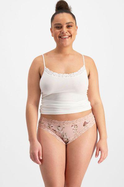 Jockey Parisienne Classic Bikini Pink French Marigold