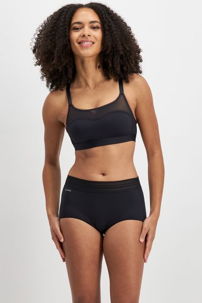 No Panty Line Promise Sheer Tops Full Brief